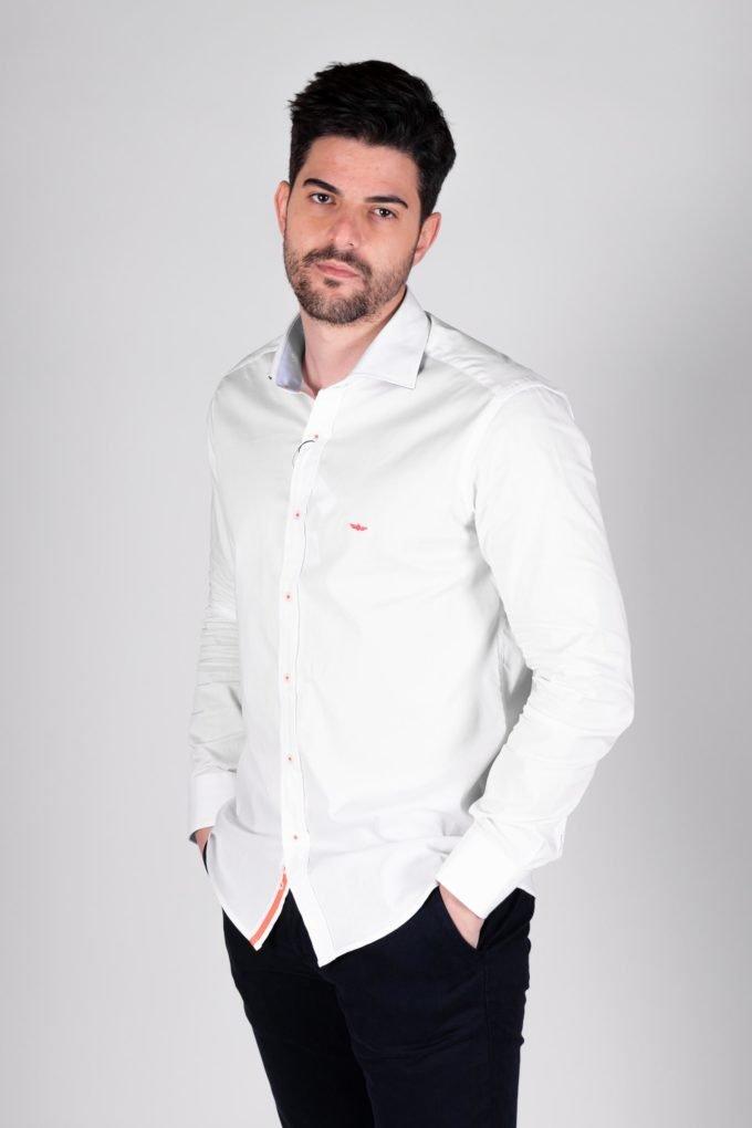 CamisaML de la marca PASSAPORT Blanco