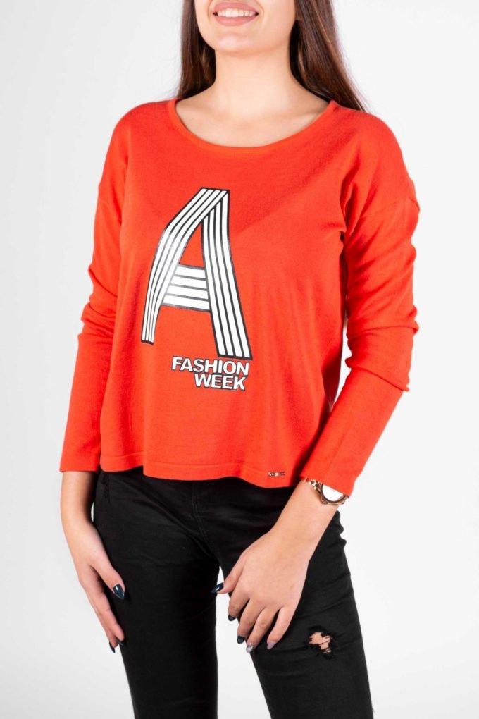 Suéter de la marca Artigli Naranja