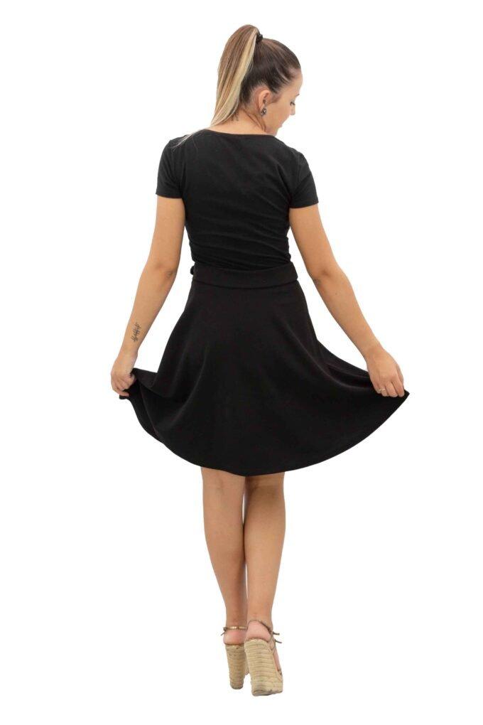 Falda de la marca Extasy Negro