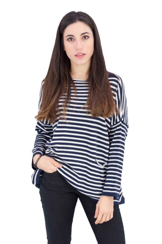 Suéter de la marca Extasy Azul Marino
