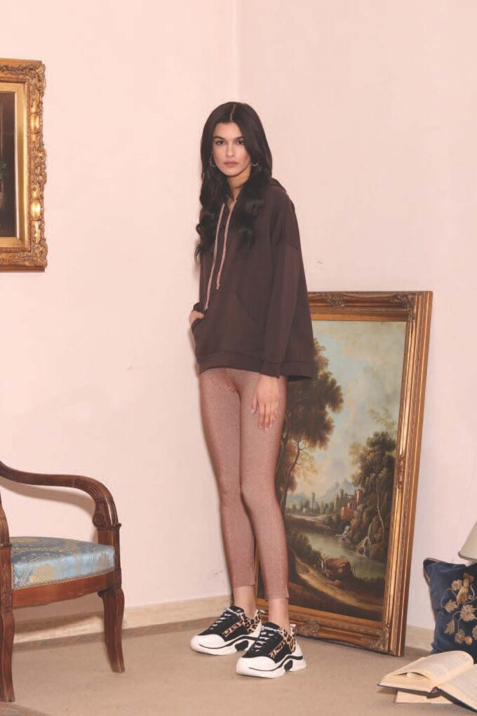 Pantalón de la marca QGuapa Milano Bronce