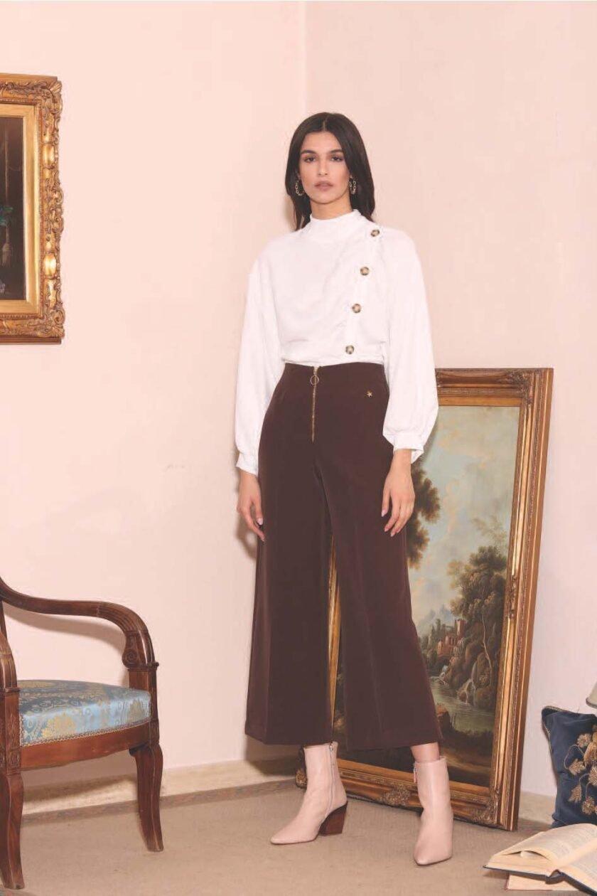Pantalón de la marca QGuapa Milano Marrón