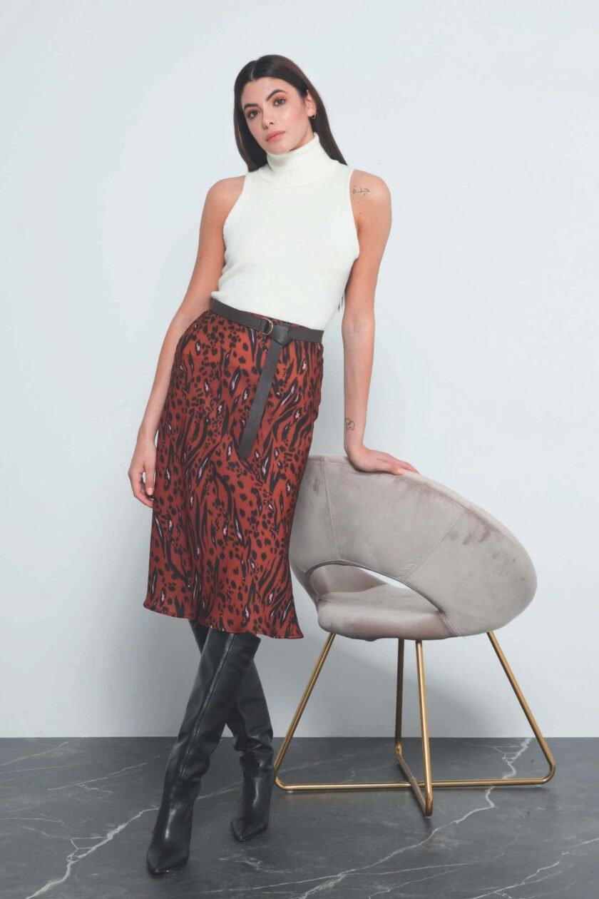 Falda de la marca QGuapa Milano Estampado