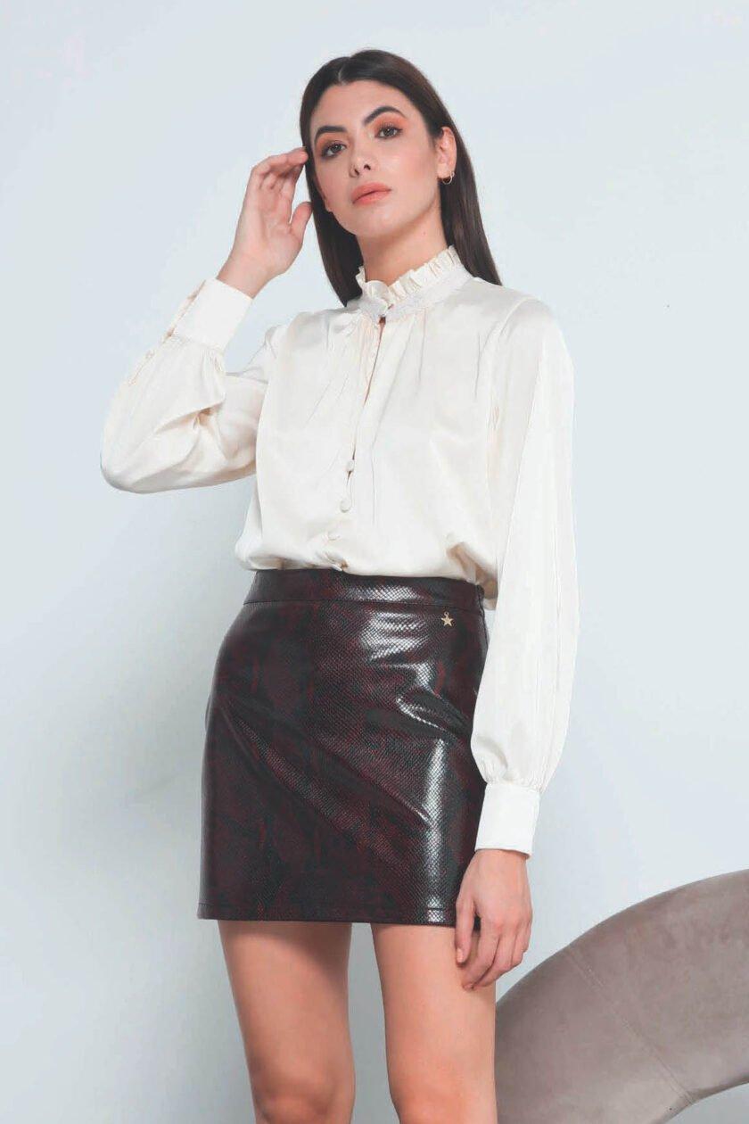 Falda de la marca QGuapa Milano Marrón