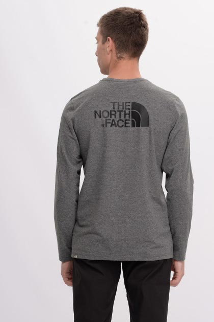 Camiseta de la marca The North Face Gris