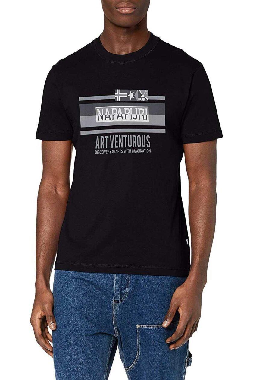 Camiseta de la marca Napapijri Negro
