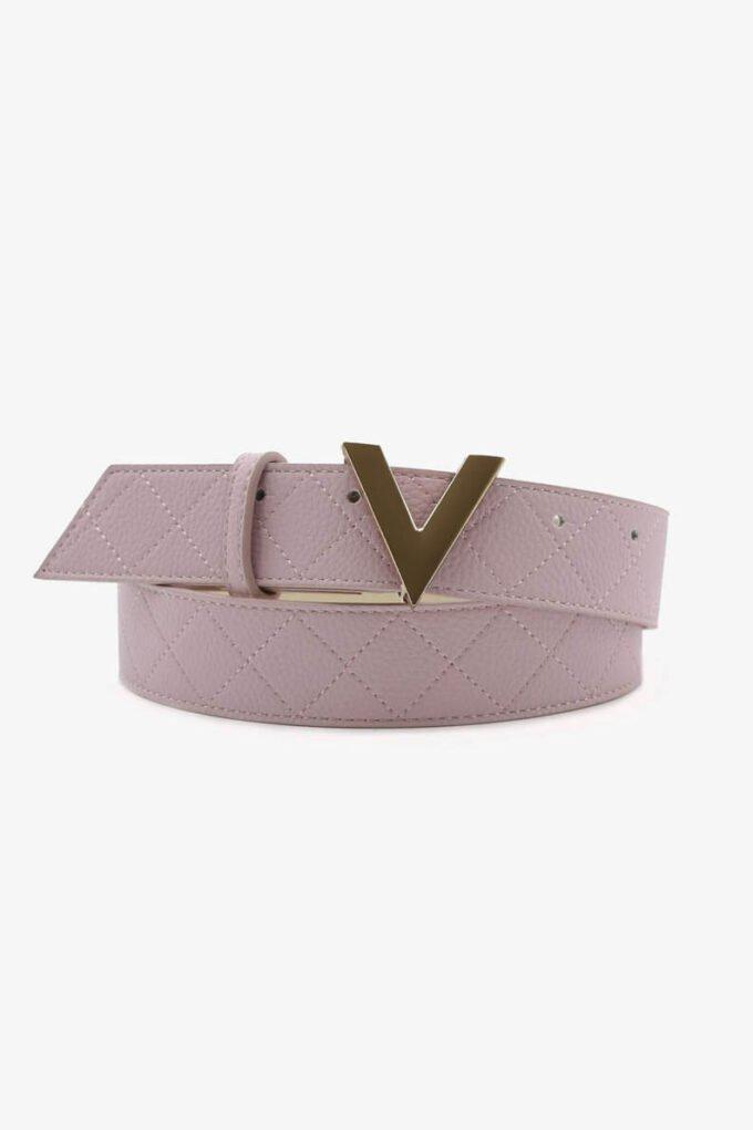 Cinturón de la marca Valentino Bags Rosa